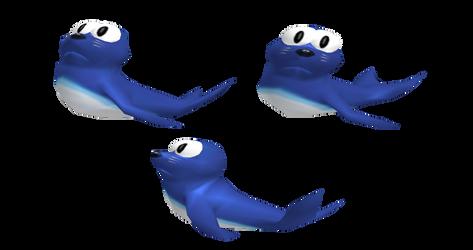 Super Smash Bros. Melee - Topi Japan Seal Renders