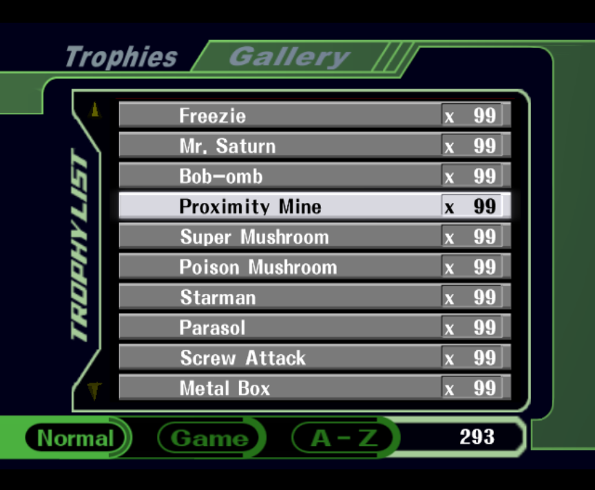 Melee - The Lost Blue Falcon Trophy + GOHOUBI IDs by ConnorRentz on