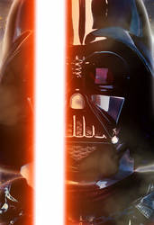 Darth Vader - The Force Awakens Style by ConnorRentz