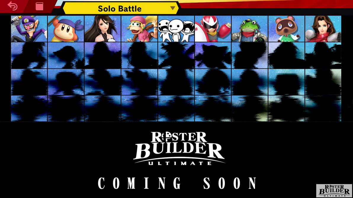 ROSTER BUILDER ULTIMATE Preview - 1/4 by ConnorRentz