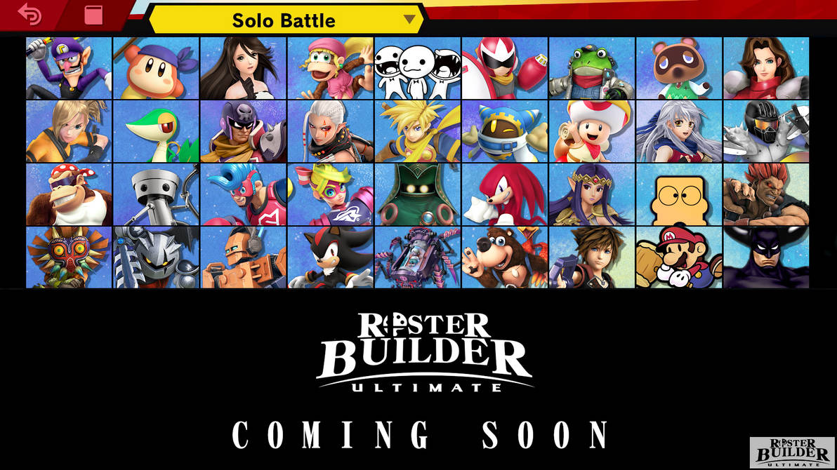 ROSTER BUILDER ULTIMATE Preview - 4/4 by ConnorRentz