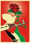 AK 47 Rose red