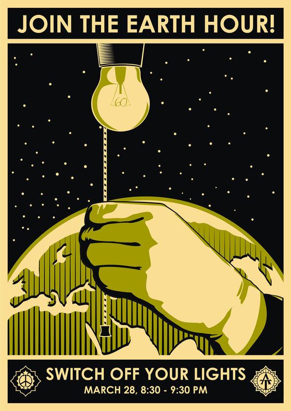 Earth Hour by racuntikus