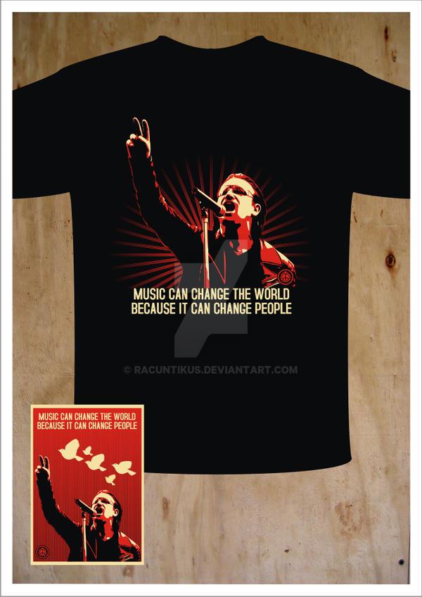 Bono tee by racuntikus