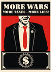More wars More lies-Red