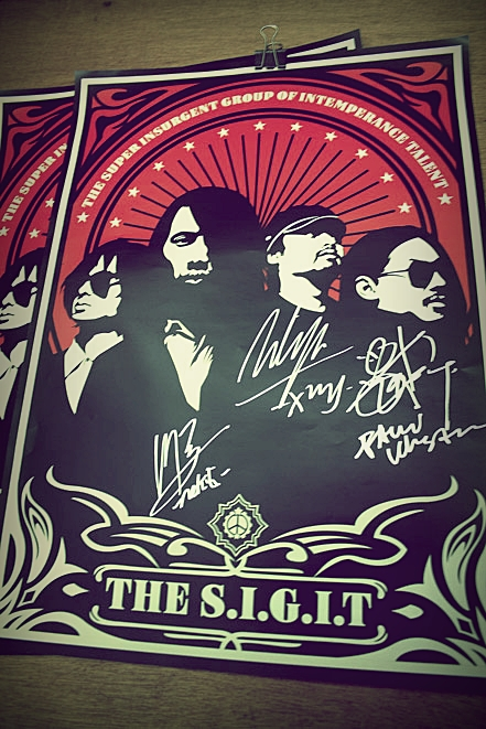 I got The SIGIT autograph by racuntikus