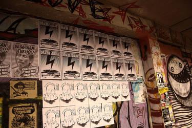 Diracun sajalah wall poster