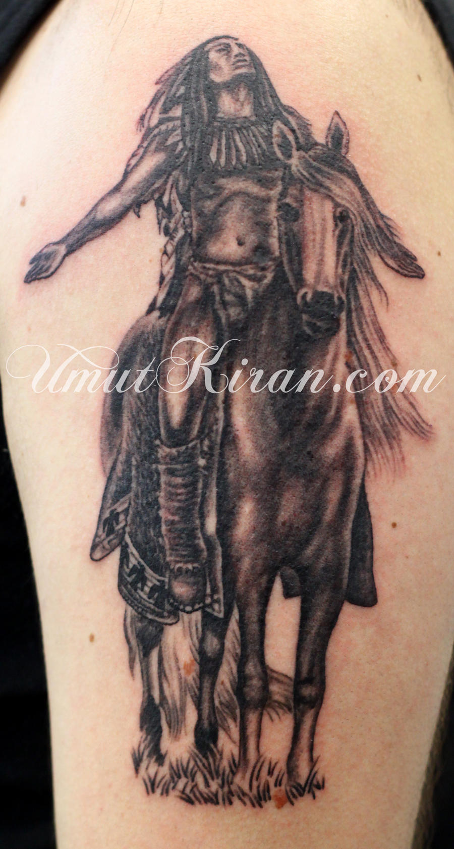 Indian Tattoo By UmutKiran On DeviantART