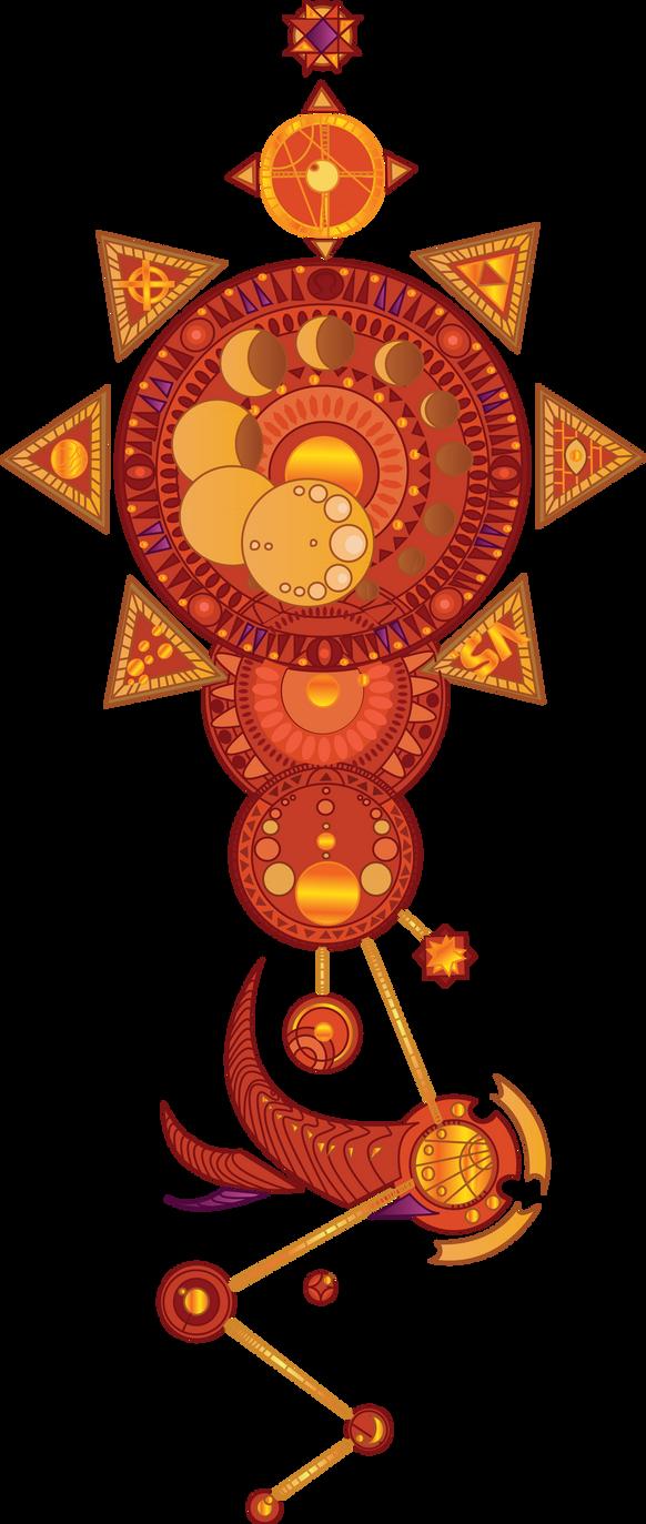 Time Magic Tattoo Design by Protogenoi-Notus