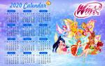 Winx calendar 2020