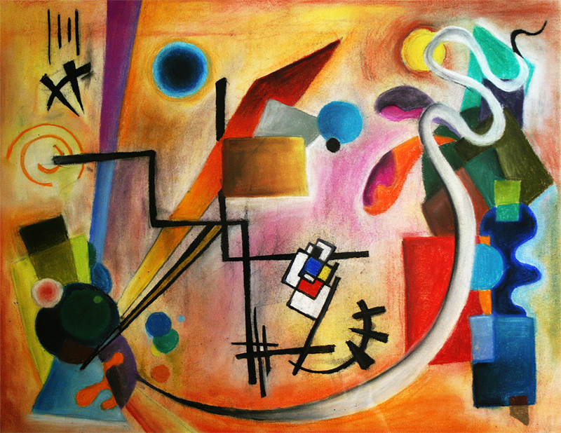 Kandinsky Tribute by ScentOfBlood