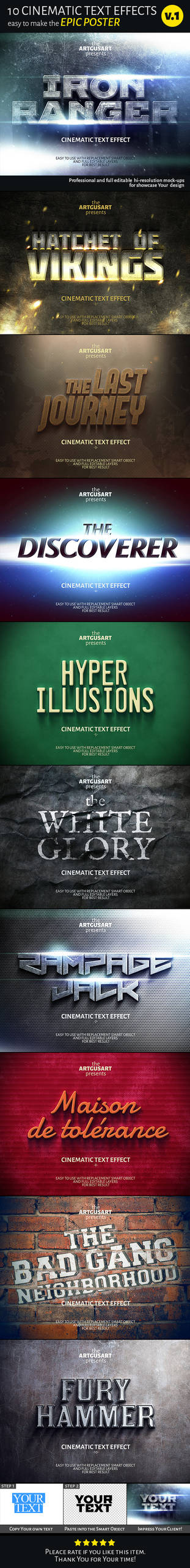 Cinematic Text Effect V 1 Main