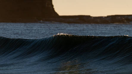 Early morning clean swell