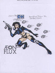 JonBoy-Hanssen-AeonFlux by ChrisLoganHanssen