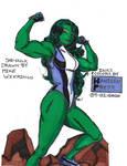 Mike Wieringo-Hanssen-She-Hulk