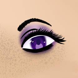 Eye Practice by PokaPariDA