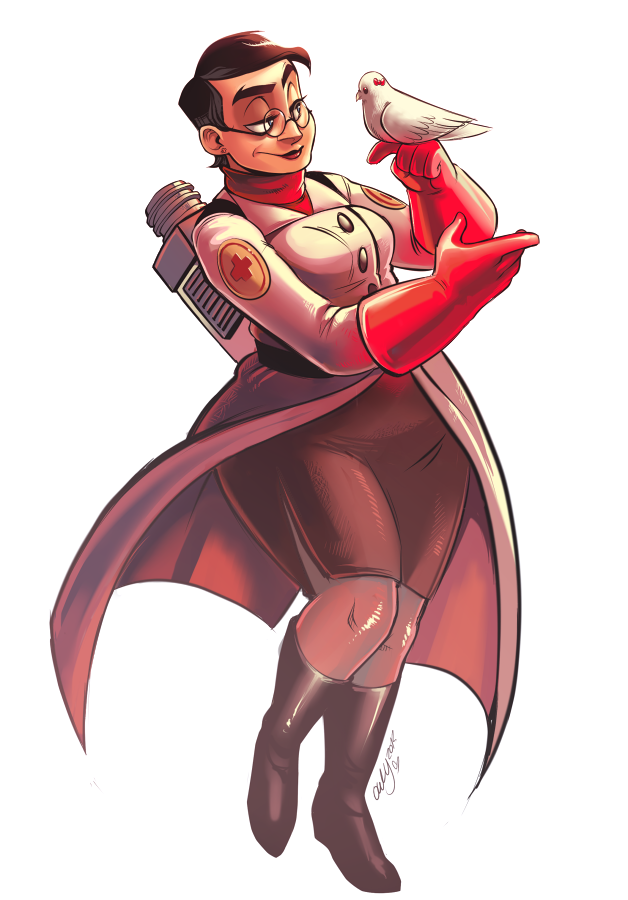 The (fem) Medic by OwlyGem
