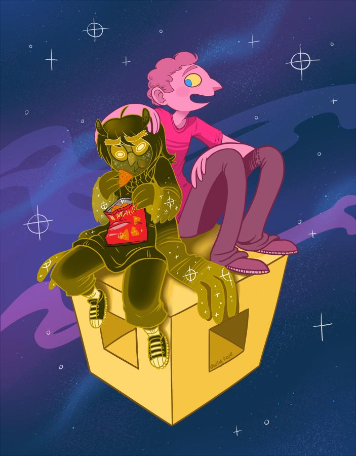 Cosmos Bros by OwlyGem