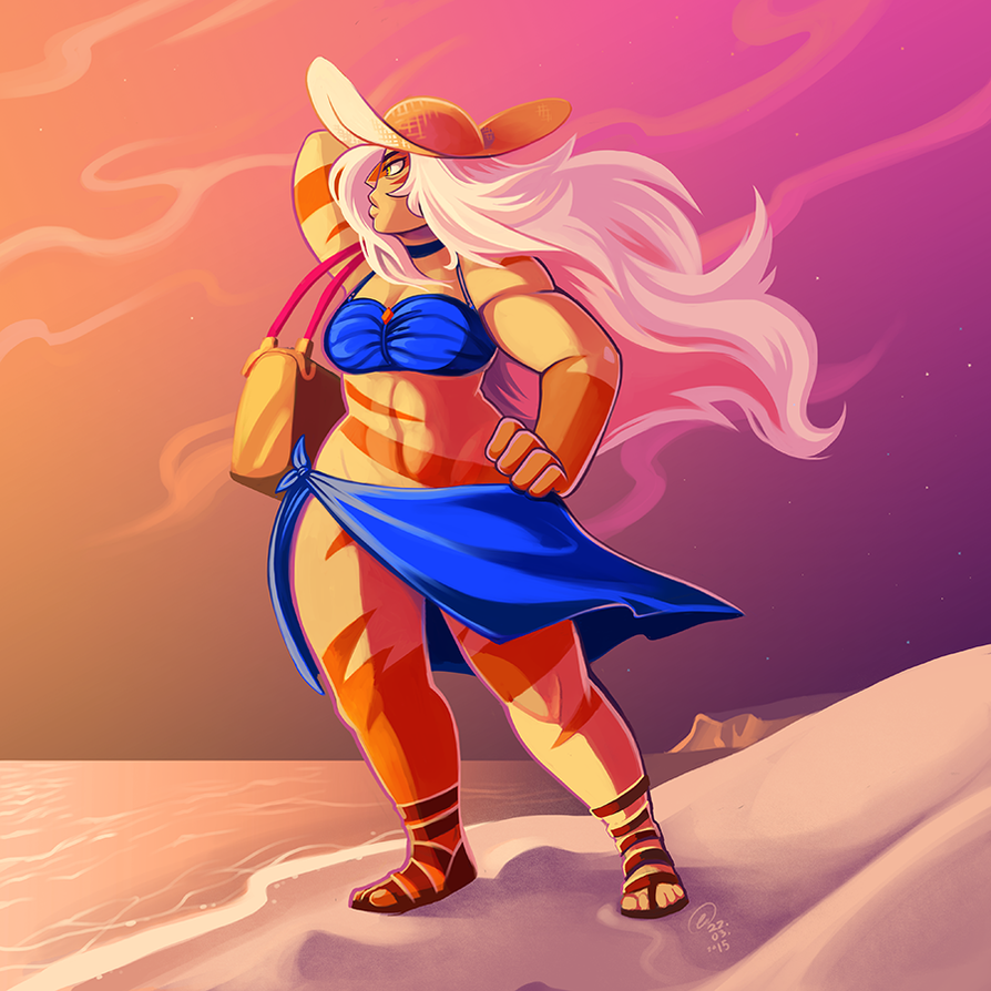 beach Jasper by OwlyGem