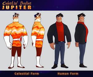 Celestial Bodies: Jupiter Reference by OwlyGem