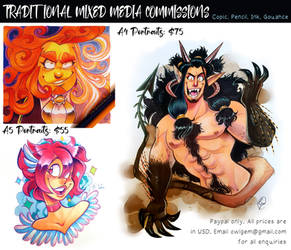 Traditional Bust Commissions
