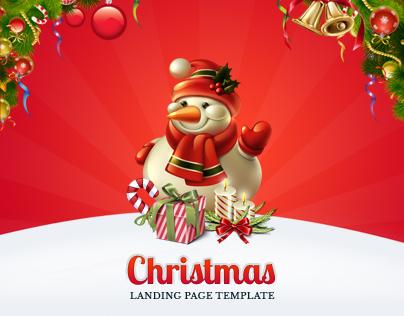 Christmas Landing Page by ProfMeThemes