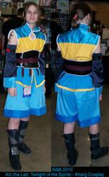 AWA 2010 Kharg cosplay by hikarikirameku