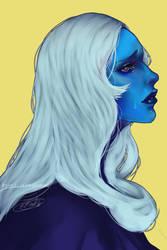 Blue diamond by R0ttenDollface