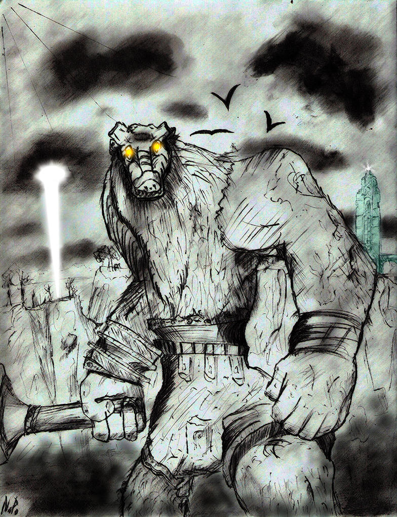 Valus - Shadow of the Colossus by Daedatheus on DeviantArt