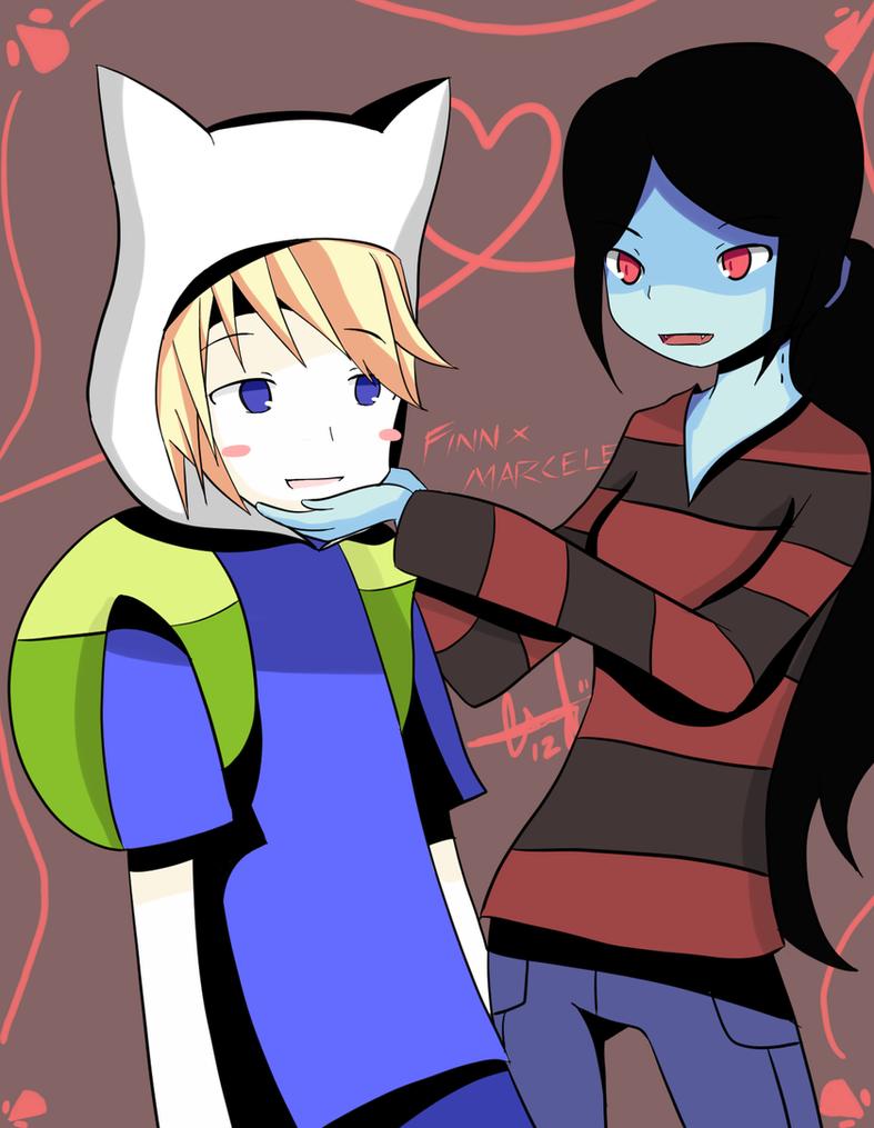 Finn x Marceline by Joker-M2 on DeviantArt