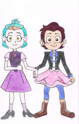 Luz and Amity (Grom)