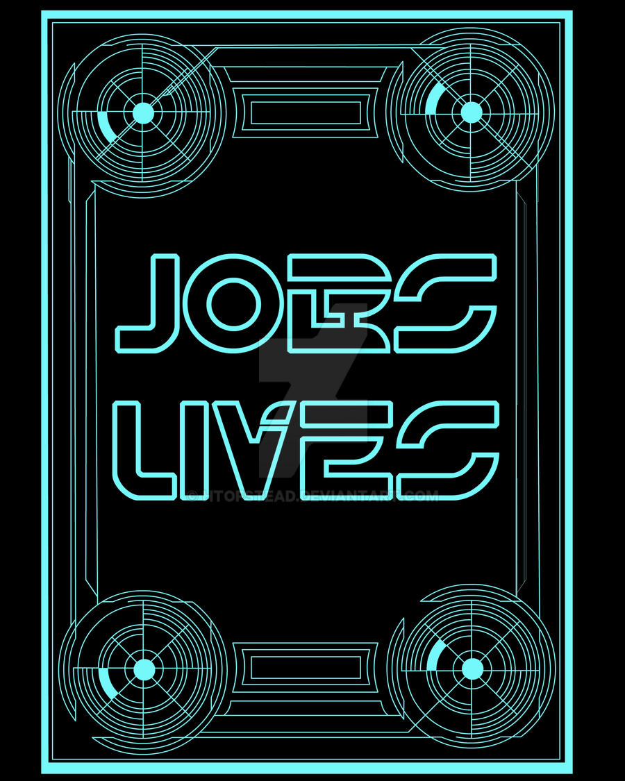 JOBS LIVES by Htofstead