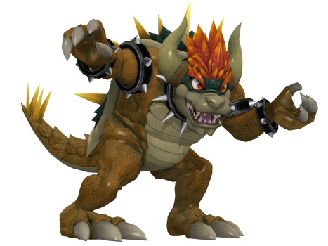 Giga Bowser Pose Work