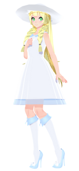 Lillie's High Heels by Mario-and-Sonic-Guy