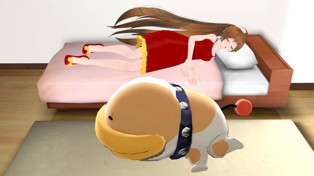 A Good Night Sleep (Amy and Poochy)