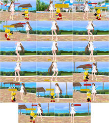 [MMD Comic] Amy's Summer Photo Session