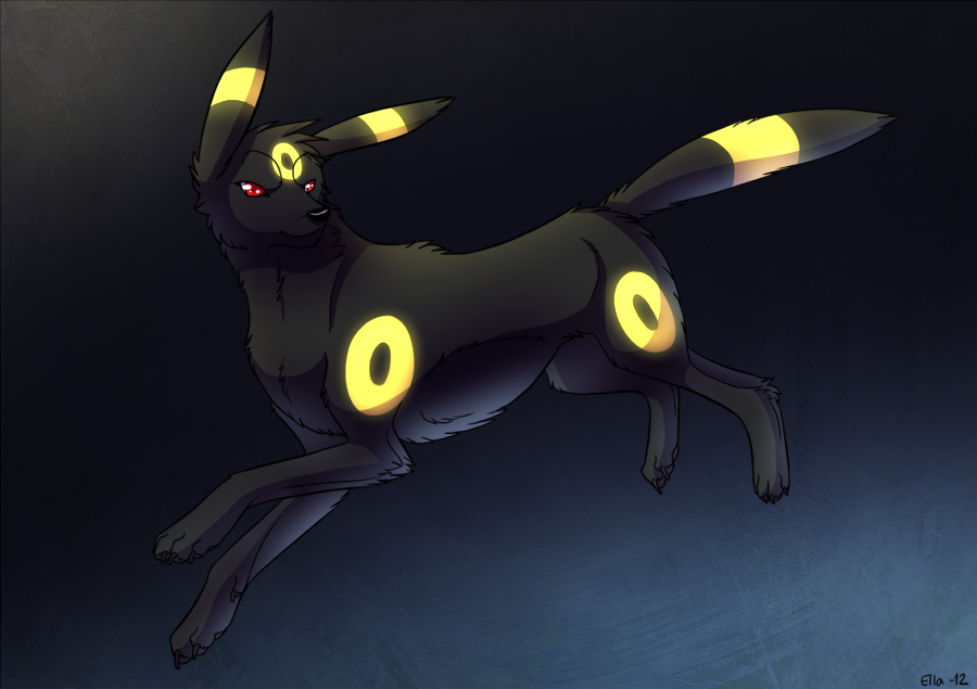 Umbreon by Pyttinski