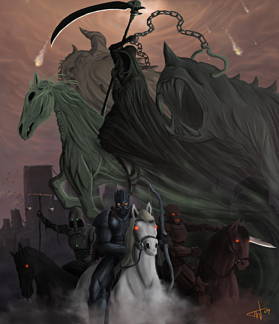Horsemen of the Apocalypse by thomaswievegg