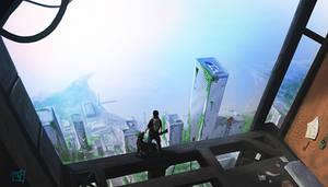 Vertiginous view