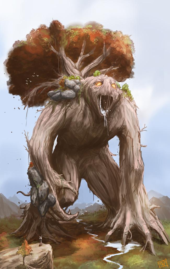 Life Colossus by thomaswievegg