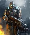 Gears of War speedpainting