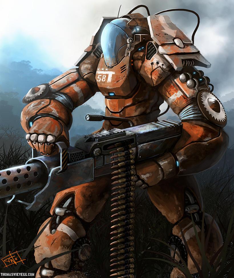 Juggernaut by thomaswievegg