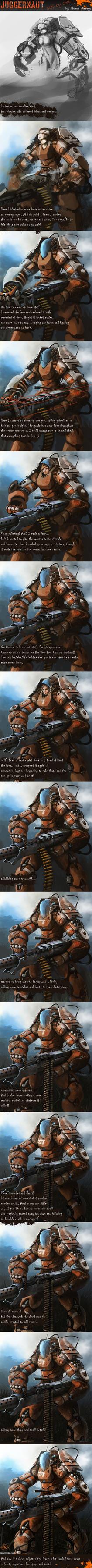 Juggernaut Step by step by thomaswievegg