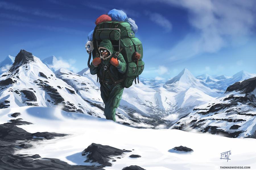 Mountains by thomaswievegg