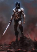 Barbarian by thomaswievegg