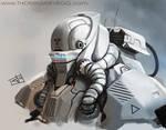 Robot scribble