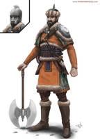Town Guard by thomaswievegg