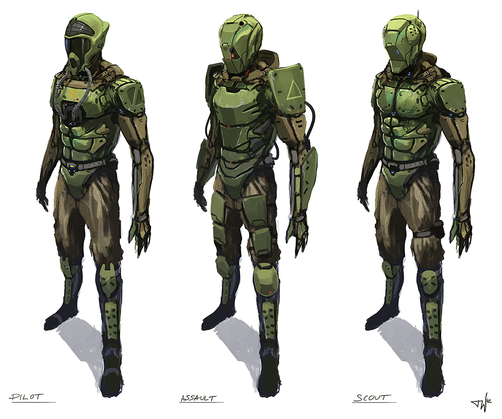 Suit concepts by thomaswievegg
