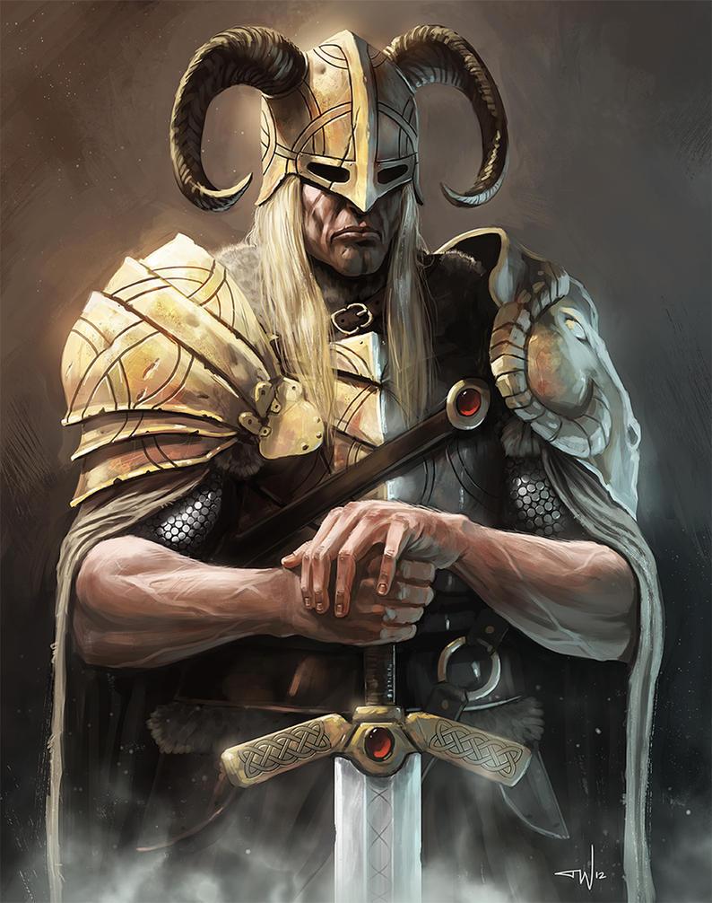 Viking by thomaswievegg on DeviantArt
