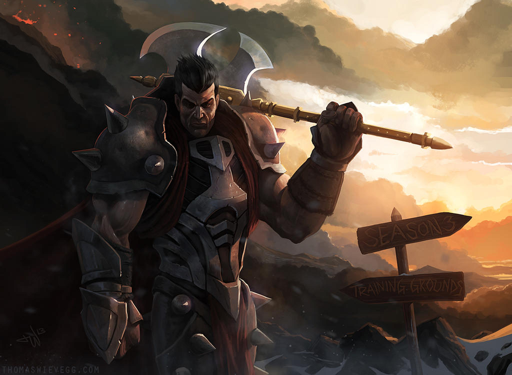 Darius - League of Legends by thomaswievegg